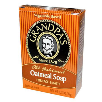 Grandpa's Old Fashioned Oatmeal Soap for Face & Bath