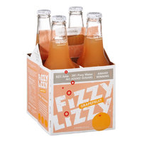 Fizzy Lizzy 100% Natural Grapefruit - 4 PK