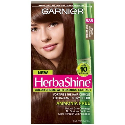 Garnier Herbashine Haircolor, 535 Medium Gold Mahogany Brown