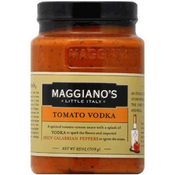 Maggiano's Little Italy Tomato Vodka Pasta Sauce, 25 oz, (Pack of 12)