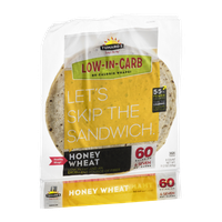 Tumaro's Wraps Low-In-Carb Honey Wheat - 8 CT