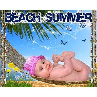 Goya C3 Beach Summer Digital Backgrounds Backdrops Children Baby Templates Holiday