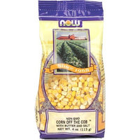 NOW Foods Corn Off The Cob S&b Flavor , 4 Ounce Bags (Pack of 6)
