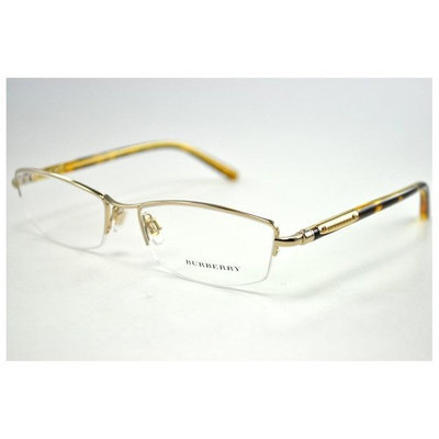 BURBERRY Eyeglasses BE 1197 1002 Burberry Gold 52MM