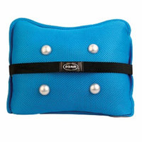 Dr. Scholl's Accunode Dual Sided Massaging Cushion, Blue/Grey, 1 ea