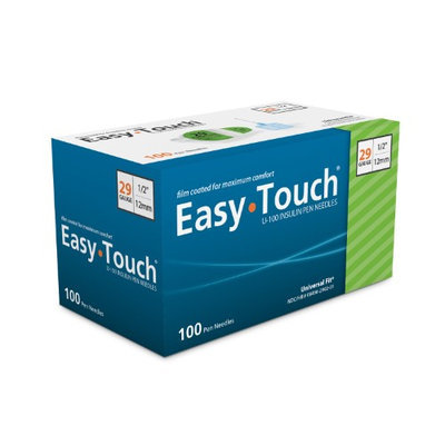 Mhc Medical Easy Touch Pen Needles 29 Gauge 1/2 in - 100 ea