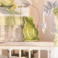 Brandee Danielle Round Sammy Green Frog Wall Hanging Wall Art