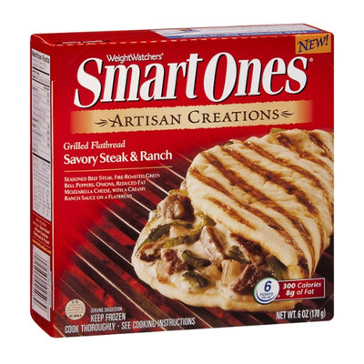 Weight Watchers Smart Ones Artisan Creations Grilled Flatbread Savoury Steak & Ranch