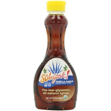 Ohgave! Agave Syrup, Vanilla Maple, 17-Ounce Bottles (Pack of 3)