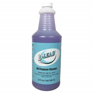 D-LEAD 3102ES-12 Lead-Removing All-Purpose Cleaner,1 Qt