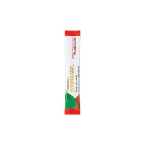 Arbonne Energy Fizz Sticks - Pomegranate 30 Sticks, 6.1g Each [Pomegranate]