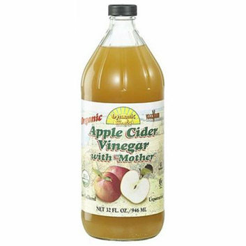 Dynamic Health Apple Cider Vinegar Organic with Mother 32 oz