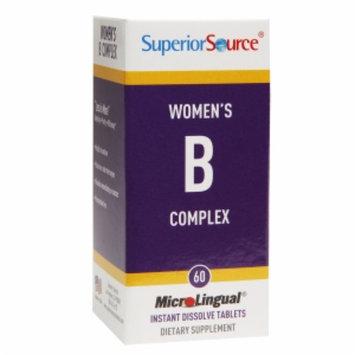 Superior Source Womens B complex w/Extra B-12 & Folic Acid