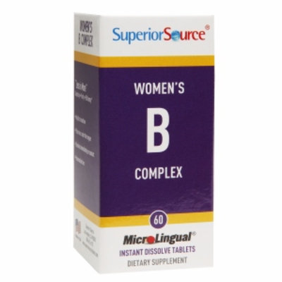 Superior Source Womens B complex w/Extra B-12 & Folic Acid