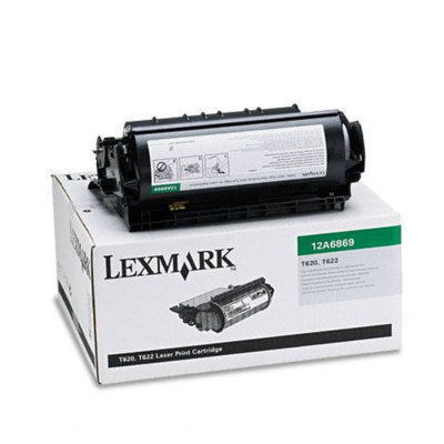 Lexmark 12A6869 High-Yield Program Toner Cartridge for Label Applications
