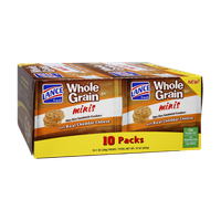 Lance Fresh Whole Grain Minis with Real Cheddar Cheese Bite Size Sandwich Crackers - 10 PK