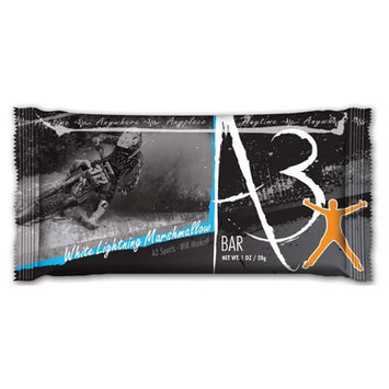 NOW - No Opportunity Wasted A3 Action Snax Energy Bar White Lightning Marshmallow - 1 oz.