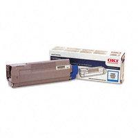 Okidata Corporation 43324419 Toner Cartridge, Cyan - OKIDATA