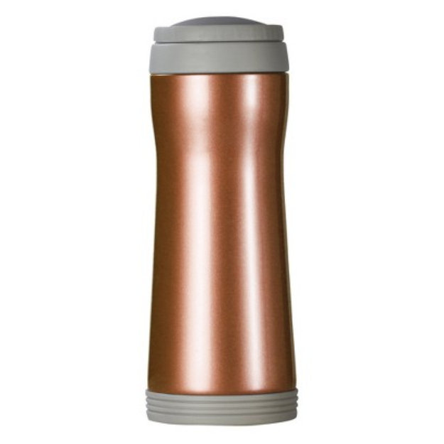 Aktive Lifestyle AKTive Lifestyle Timolino Vacuum Mug with Infuser - Citrus Orange (12