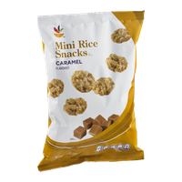 Ahold Mini Rice Snacks Caramel