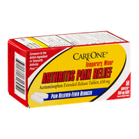 CareOne Arthritis Pain Relief Acetaminophen Tablets 650 mg - 50 CT