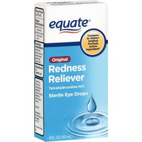 Equate Original Redness Reliever Eye Drops 1 Fl Oz Compare to Visine