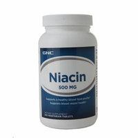 GNC Niacin 500 mg, Vegetarian Tablets, 240 ea