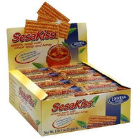 SesaKiss Sesame Seeds with Wheat Syrup & Honey, 1.06-Ounce Packages (Pack of 48)
