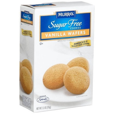 Murray Sugar Free Cookies Vanilla Wafers, 5.5-Ounce Boxes (Pack of 12)