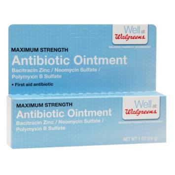Walgreens Triple Antibiotic Ointment