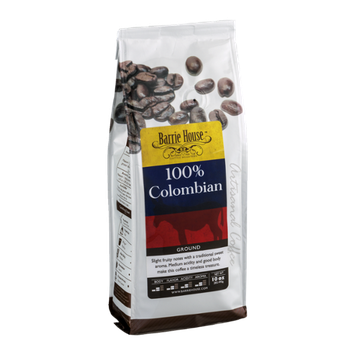 Barrie House Ground Coffee 100% Colombian