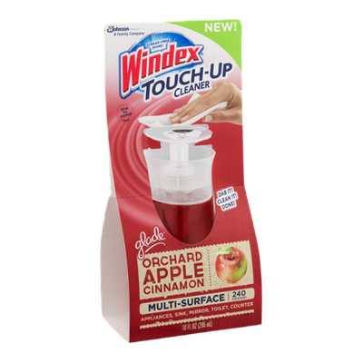 Windex Touch-Up Cleaner Glade Orchard Apple Cinnamon