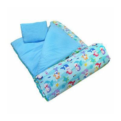 WildKin Olive Kids Mermaids Sleeping Bag
