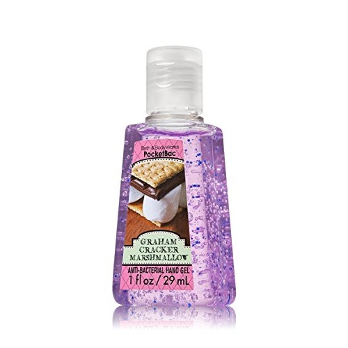 Graham Cracker Marshmallow Pocketbac - S'mores Scent - Discontinued! Bath & Body Works Antibacterial Hand Sanitizer Gel