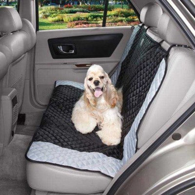 Guardian Gear Polyester Fairfield Car Dog Seat Cover, 55-Inch, Black