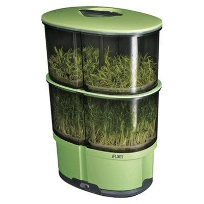 iPlant 2 level sprout garden with 4 pks Free Seeds