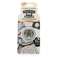 Yankee Candle Scent Vent Clip Sage & Citrus 0.13 Ounce, Green