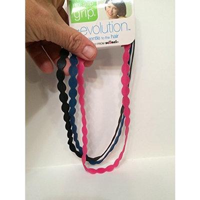 Conair Scunci No-Slip Grip Evolution Hair Bands, 3 count
