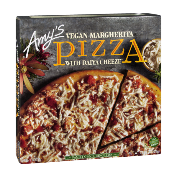 Amy's Pizza Vegan Margherita with Daiya Cheese