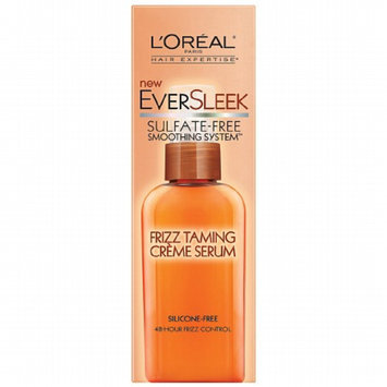 L'Oréal Paris Hair Expertise EverSleek Sulfate-Free Smoothing System™ Frizz Taming Crème Serum