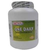 One daily multivitamin supplement tablets by Preffered plus - 1000 Ea