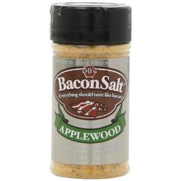 J & D Foods J&D's Bacon Salt, Applewood, 2.5 Ounce
