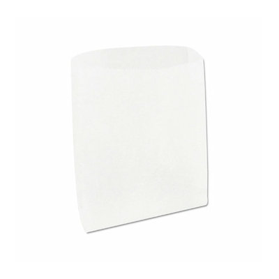 Marcal Paper Mills, Inc. Wet Waxed Paper Sandwich Bag in White