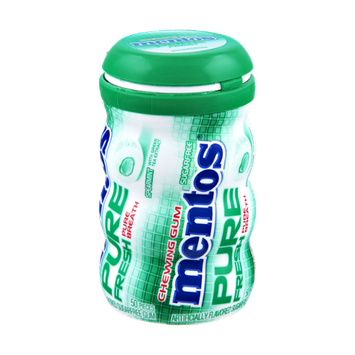 Mentos Pure Fresh Spearmint Sugar Free Chewing Gum - 50 CT
