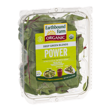 Earthbound Farm Organic Power Deep Green Blends
