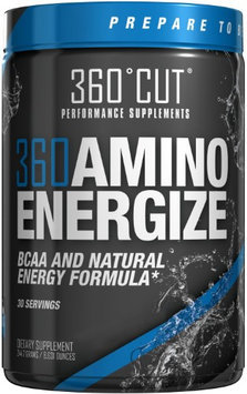 360Cut 360 Amino Energize, Peach Lemonade Ice Tea, 30 Servings