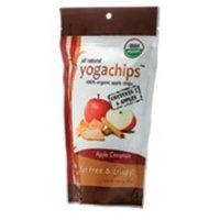 Yogachips 100% Organic Apple Cinnamon Yoga Chips 1.76 oz. (Pack of 6)