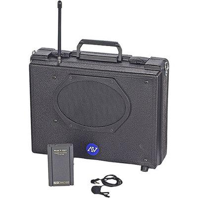 Amplivox Wireless Audio Portable Buddy w Amplifier, Lapel & Headset Mic