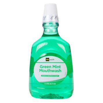 DG Health Mouthwash - Green Mint, 1.5 liters