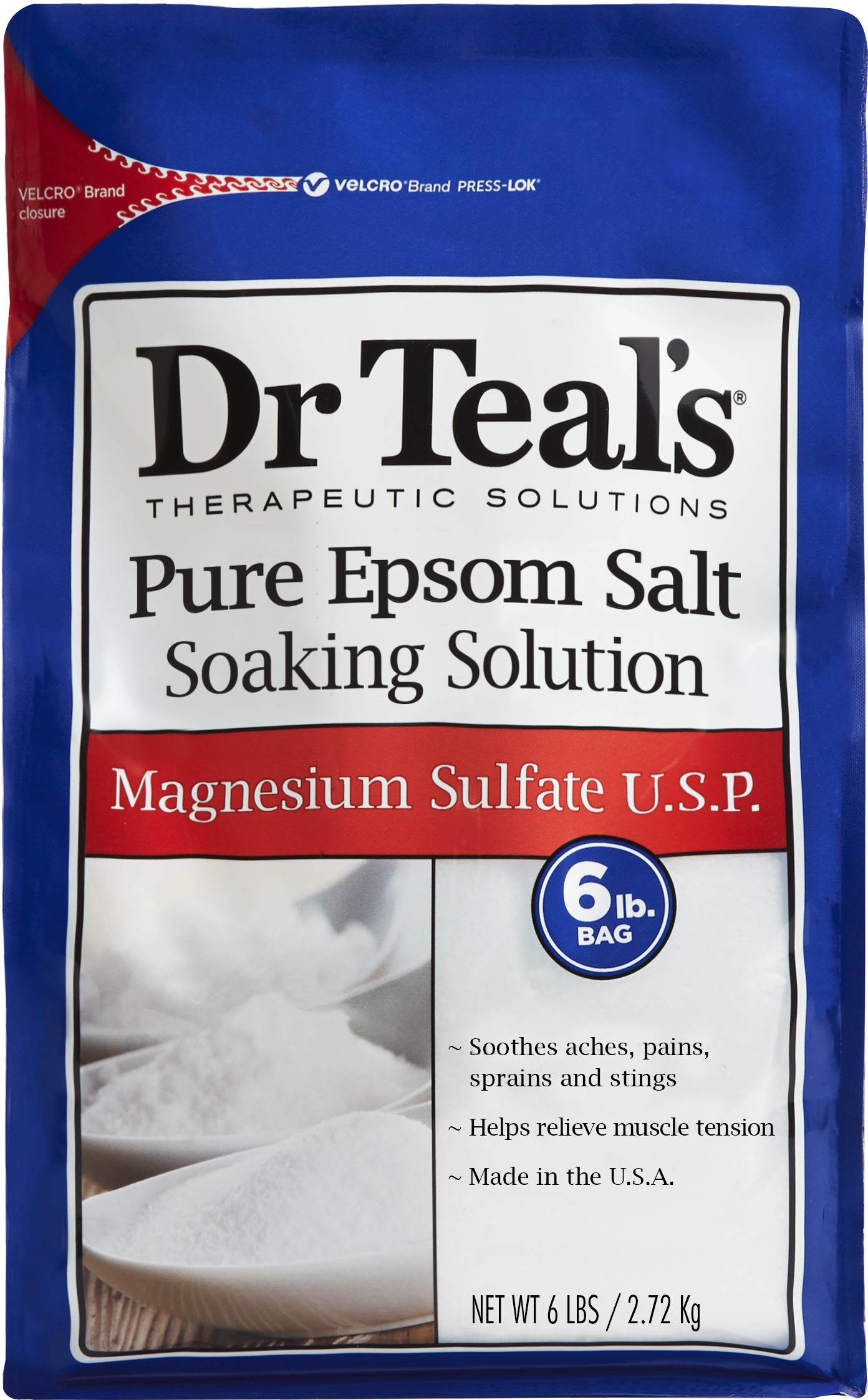 Dr.Teal's® Pure Epsom Salt Magnesium Sulfate U.S.P. Soaking Solution